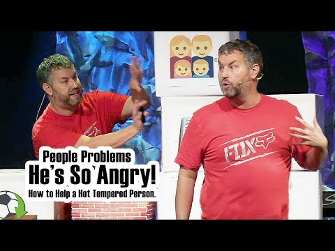 He's So Angry! How to Help a Hot Tempered Person. (People Problems)
