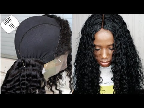 HOW TO DEFINE CURLS - HOW TO MAKE A WIG -How To Cut Lace Off A Frontal - HAIR TUTORIAL