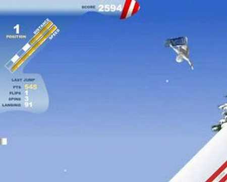Yeti Sports 7 Snowboard FreeRide