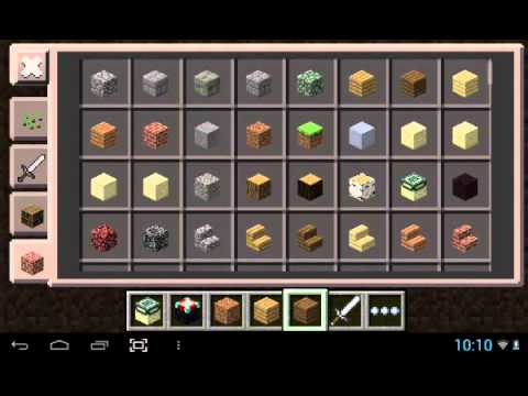 Minecraft PE 0.9.0 build 1 free dowland apk and gameplay (HD)