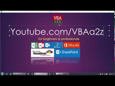 VBA and SQL Server - VBA Programming with SQL Server Database. Intro