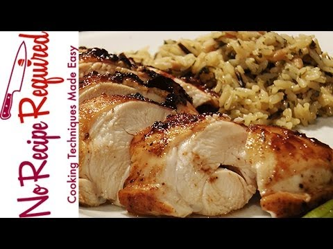 Baked BBQ Chicken Breasts - NoRecipeRequired.com
