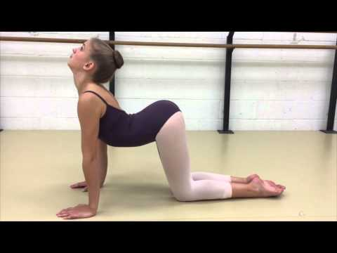 Back arch/curve stretch