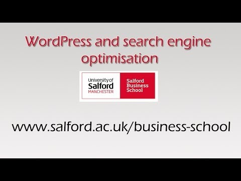 WordPress and Search Engine Optimisation (SEO) - MOOC -  [9/9]