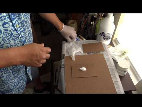 How to gesso hardboard for oil painting