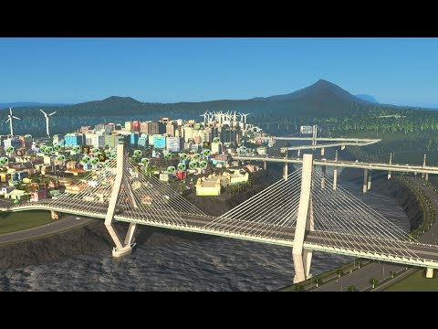 Cities Skylines: New City with AfterDark and Mass Transit Part 1 1440p
