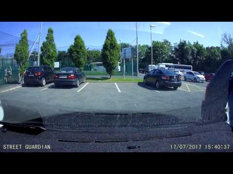 Outside +26.5C, Dashboard +85C, Dashcam +60C (Part 4). Measured with CEM DT-8866