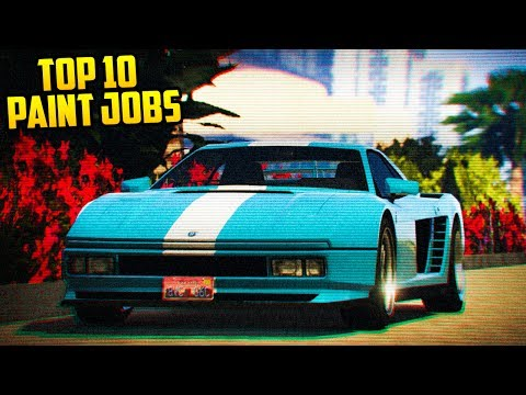 TOP 10 PAINT JOBS FOR THE CHEETAH CLASSIC! (GTA Online)
