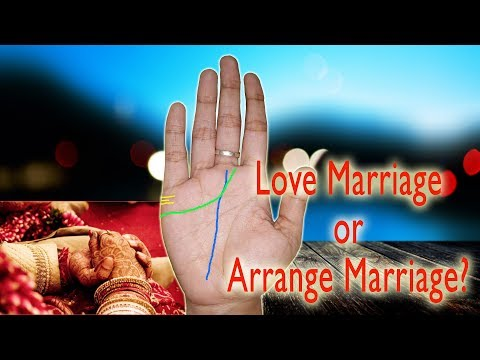 Marriage Line in Hand | Palm Reading Marriage