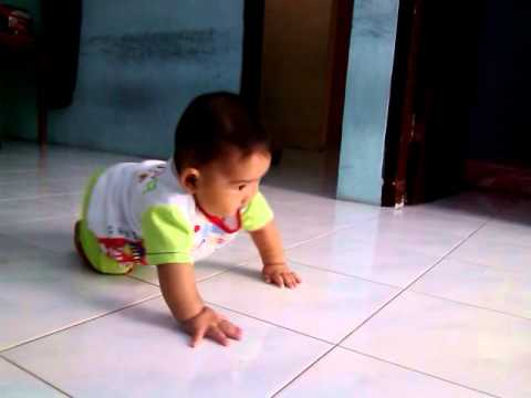 How To Teach Baby To Walk Alone - part 2