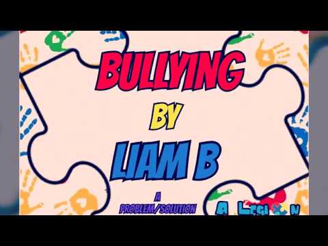 Bullying - A Problem Solution Essay by a Kid on the Spectrum