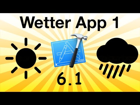 How to make a weather app in Objective-C Part 1