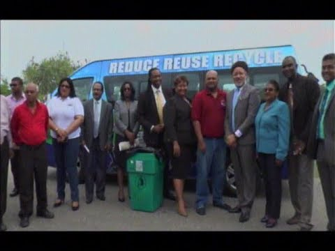 Curb Side Recycling Initiative To Reduce Plastic Waste At Landfills