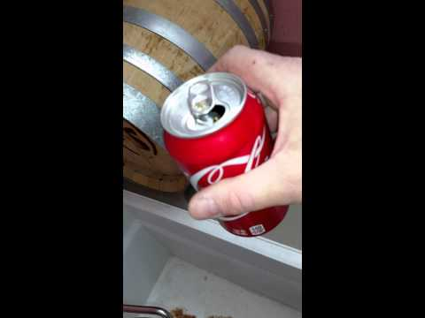 Stainless clean with Coke a Cola