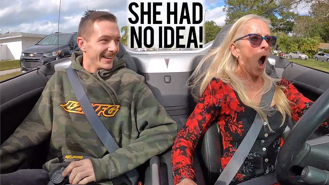 LS3 Swapped my Mom's Solstice - Her Reaction Was Priceless!