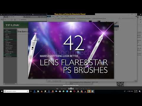 Lens Flare Brushes Download And Use in Photoshop