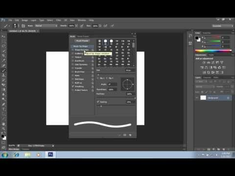 How to Create a Dotted Line in Photoshop CS6