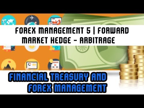 Financial Treasury & Forex Management | Forex Management 5 | Forward Market Hedge -Arbitrage |Lec 35