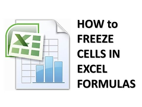 How to Freeze Formula in Cell at Excel