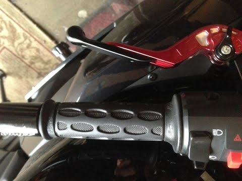 How to change handlebar grips on motorcycle (FAST AND EASY)