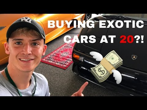 Buying Seized Exotic Cars At 20 (Owned by Drug Dealers) Vlog #1