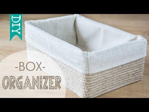 🗃️  storage box DIY | how to make a storage box | cardboard organizer