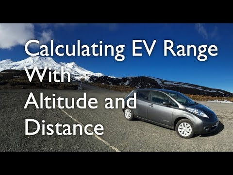 Calculating EV range with Altitude and Distance in Google Maps