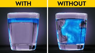 DENSITY OF WATER    Cool Bright Experiments You Can Do At Home