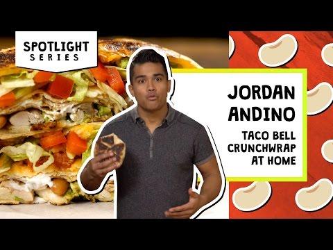 Taco Bell Crunchwrap at Home | Jordan Andino