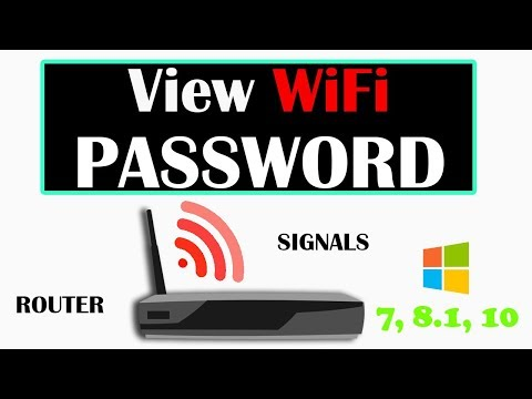 How to find/view wifi Security Key/Password on Windows Computer