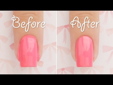 Make Your Messy Nails Look Perfect! | cuticle clean up