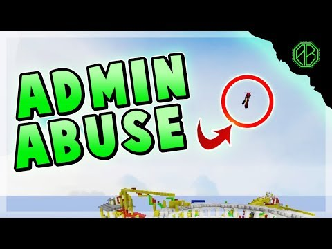 Admin caught ABUSING in HYPIXEL! ( MEGA Bed Wars )