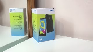 Alcatel U5 4G/LTE - Unboxing [4K]