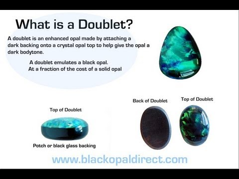 How to make a doublet from Scratch by Blackopaldirect.com
