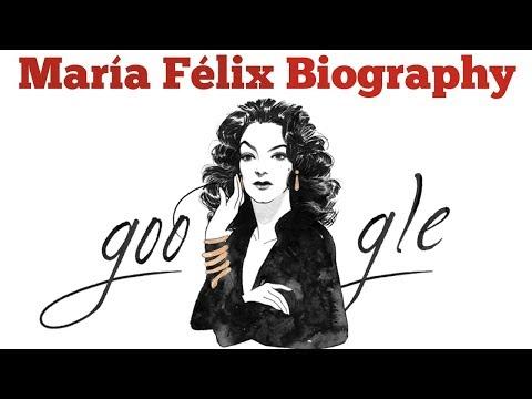 María Félix Google Doodle | Short Biography of María Félix