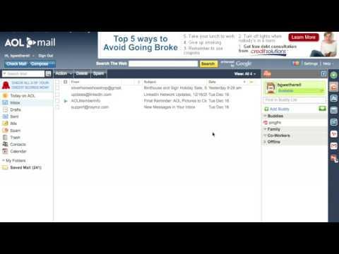AOL Webmail themes