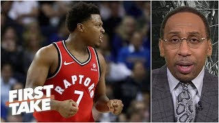 Raptors have no excuse not to make the NBA Finals - Stephen A. | First Take