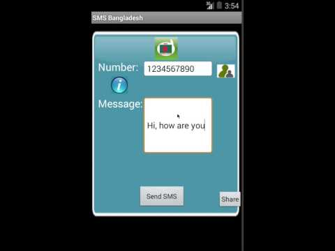 Top Free SMS to Bangladesh Android App Review