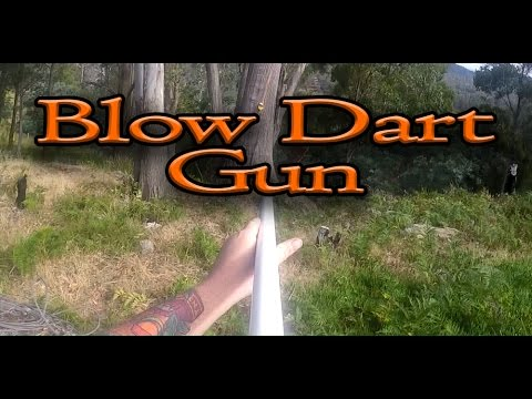 How To: Make A Blow Dart Gun | The PVC Armory