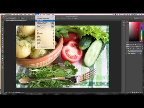 How to Use Diffuse effects in Photoshop