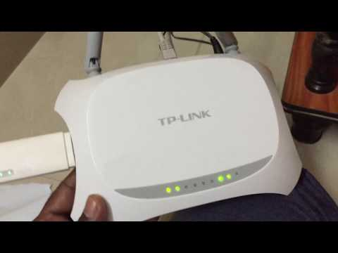 TP-LINK TL-MR3420 3G/4G Wireless N Router/TP-LINK TL-MR3420 unboxing and review.