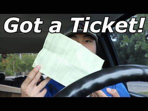 I Got a Ticket For Having Dark Windows!!