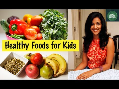 How to Get Your Kids to Eat Healthy- Hindi