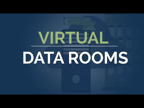 Due Diligence or M&A with Secure Data Room