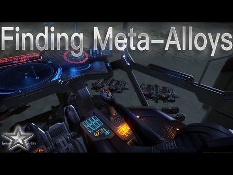 Elite: Dangerous Engineer Finding Meta-Alloys