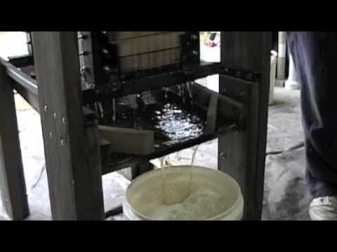 Tightwad Cider Press~(How to make apple cider)