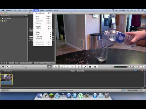 TylerTutorials: How to use SlowMo, FastMo, Instant Replay, and Rewind Options in iMovie'11