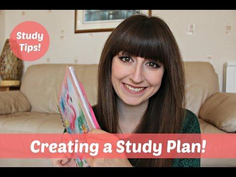 Study Tips | Creating A Study Plan!