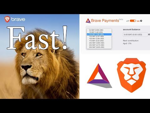 Brave Browser BAT Payment System First Look! Better than Chrome and Safari!