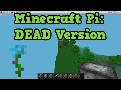 ABANDONED Version of Minecraft - Pi Edition W/ Gameplay!